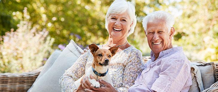 senioren buiten