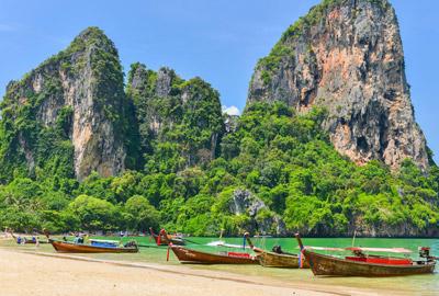 strand thailand boten